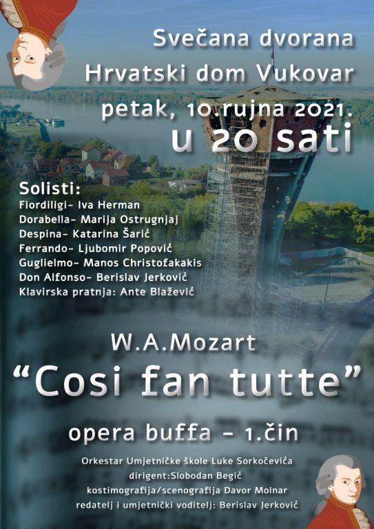 """""""Cosi fan tutte"""" – opera buffa – 1. čin"""