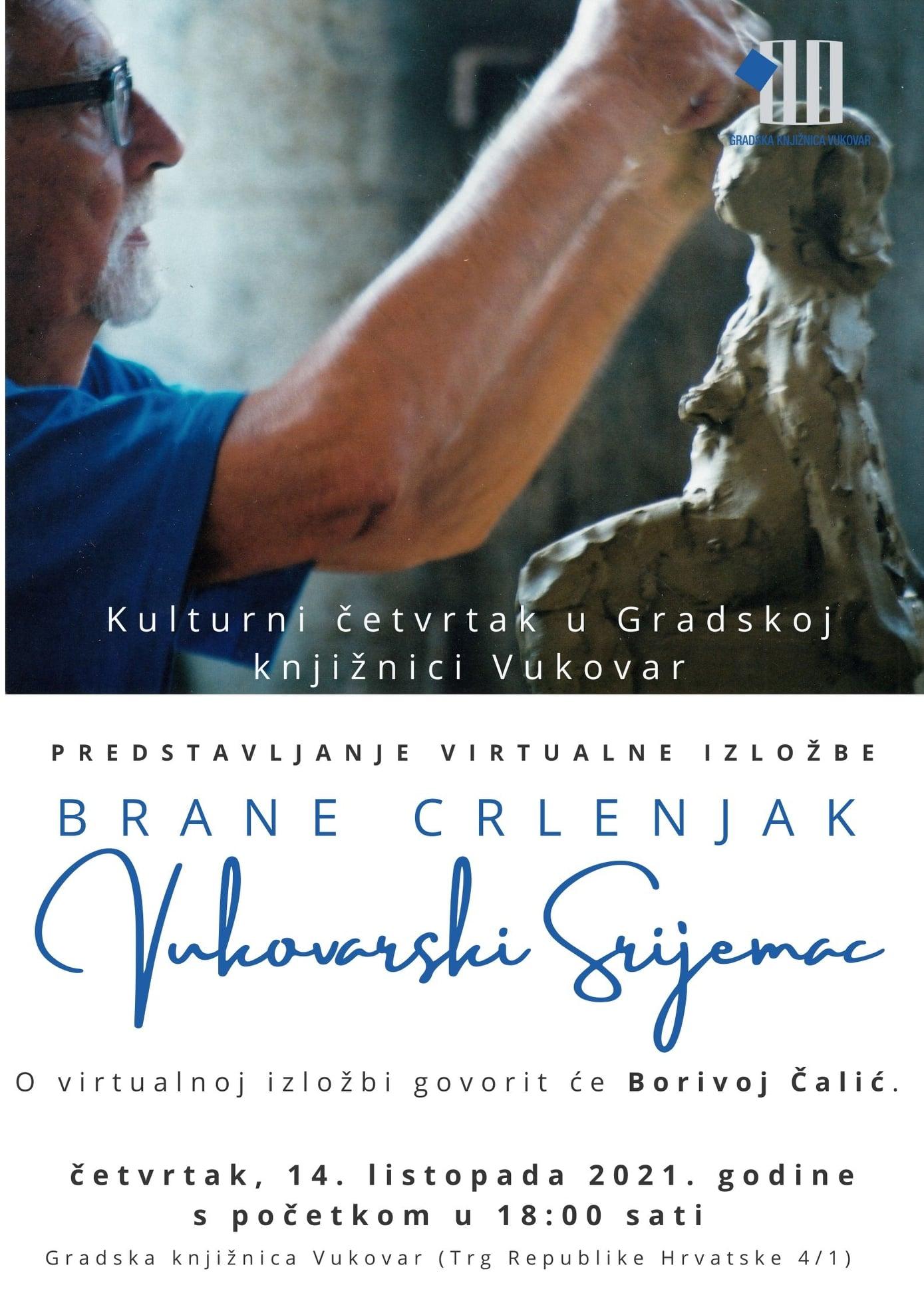 Predstavljanje virtualne izložbe Brane Crlenjak – Vukovarski Srijemac