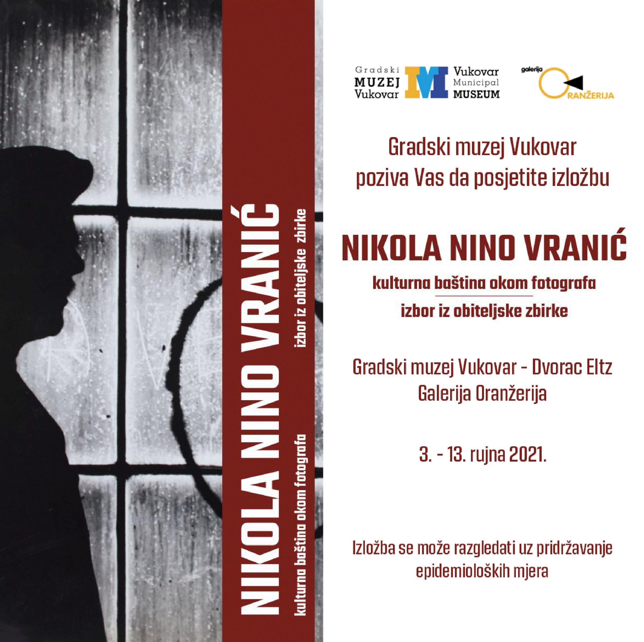 Izložba – Nikola Nino Vranić