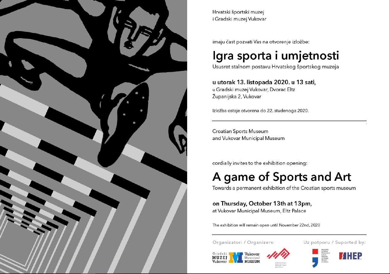 Izložba – Igra sporta i umjetnosti